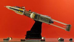 Y-wing - Side view (dmaclego) Tags: lego star wars fighter a new hope rebel spaceship