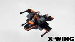 X-wing (curtydc) Tags: microfighter star wars tie fighter xwing awing atst ywing moc lego custom