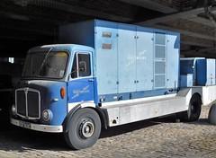 DTA 983C AEC Mercury (Grumman G1159) Tags: dta983c aec aecmercury 12ton tivertoncoachwork centraxgeneratorunit northwestelectrictyboard lorry flatbed truck norweb museumofscienceindustry manchester