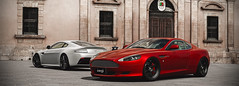 Aston Martin V12 Vantage & DB9 (nbdesignz) Tags: 6 hot sexy cars beautiful beauty car digital martin gran turismo aston vantage gt6 v12 db9 polyphony ps3 playstation3 photomode gtplanet nbdesignz