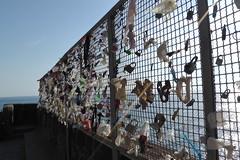 Lucchetti dell'amore (sbilanceri) Tags: bridge italy costa love coast liguria locks lucchetti dellamore