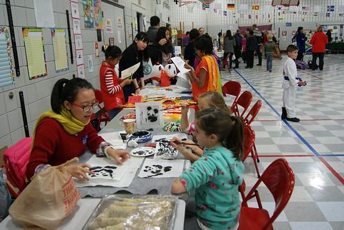 Family Heritage Night at Moorsbridge Elementary School