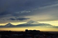 Mount Ararat from Yerevan city (Lea_from_Armenia) Tags: city winter mountain snow sport capital armenia yerevan complex snowscape armenian masis ararat հայաստան hayasdan երեան արարատ մասիս