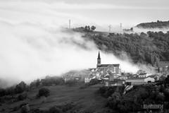 Fog (ElmerstarK) Tags: mist france fog brouillard brume aveyron midipyrénées saintvictoretmelvieu melvieu