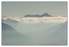 Mer de nuages dans la Chartreuse, Chambry, France (Pito Charles) Tags: sea cloud mer france alps clouds montagne alpes french landscape chambry nuage nuages paysage alp alpe aix montagnes bains aixlesbains revard