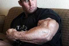 xdfgh (davidjdowning) Tags: men muscles muscle muscular bodybuilding buff bodybuilder biceps