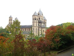 Autumn in Maria Laach Abbey, Germany (petrOlly) Tags: autumn abbey germany deutschland europa europe eifel marialaach