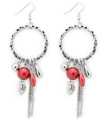 Sunset Sightings Red Earrings P5920-1