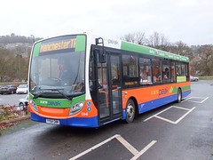 transpeak 594 Matlock (Guy Arab UF) Tags: bus buses high branded derbyshire peak 200 alexander dennis matlock enviro 594 transpeak centrebus wellglade yy64gwm