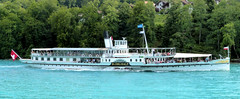 PS Blmlisalp on Lake Thun, Switzerland on the 8th July 2012. (trained_4_life) Tags: switzerland in