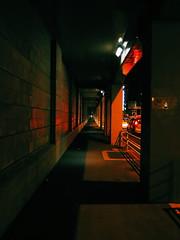 vanishing point (teruw0teruw0) Tags: street nightphotography japan night canon point japanese asia nightlights nightscape nocturnal nacht january streetphotography streetlife powershot  pointandshoot nippon nightview yokoha