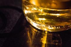 Bar, Desperados Bottle (louisverplancken) Tags: light orange color reflection green beer yellow bar canon table bottle colorful belgium piano minimal simplicity simple minimalist namur desperados eos1100d
