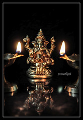 / Lord Ganesha (Ramalakshmi Rajan) Tags: ganesha nikon idol lamb lamps idols lordganesha pillayar nikkor50mm nikond5000 ramalakshmirajan