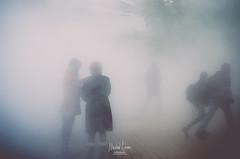 Portraits brouillard (Mickal DEMONT) Tags: portrait urban france art fog portraits gris bleu lille blanc brouillard couleur