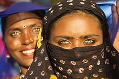 Diamonds of Rajasthan (Bertrand Linet) Tags: portrait woman india smile eyes women asia feminine indian beautifulwomen pushkar beautifuleyes sparkling rajasthan inde rajasthani indiawoman rajasthaniwomen bertrandlinet