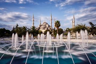 Teşekkürler | Blue Mosque, Istanbul, Turkey