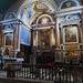 Choeur baroque (XVIIIe), église Notre-Dame de l'Assomption (XIVe, XVIe, XVIIIe), La Bastide-Clairence, Basse-Navarre, Pays Basque, Pyrénées-Atlantiques, Aquitaine, France.
