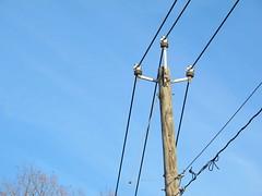 Bozrah Light & Power 13.8KV (dingo48) Tags: electric utility powerlines 138kv