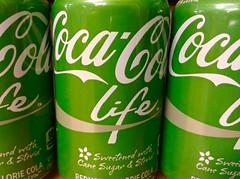 Coca Cola Life (JeepersMedia) Tags: life cola coca