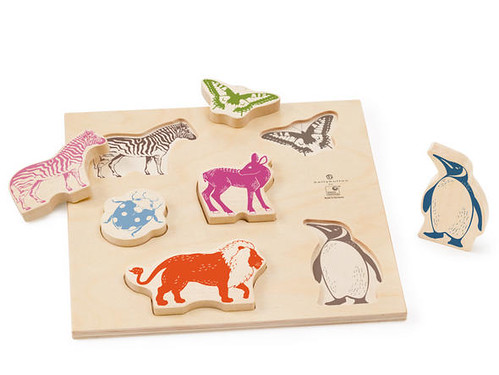 Puzzles Formes animaux