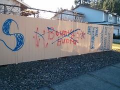BOUNTY HUNTER BLOODS, vs. SUR TOWN RASKALS 13 (northwestgangs) Tags: graffiti lynnwood gangs everett bloods crips snohomishcounty ganggraffiti surenos
