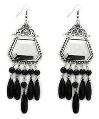 5th Avenue Black Earrings P5130-5