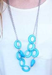 Glimpse of Malibu Blue Necklace K1 P2710-5