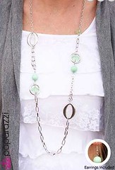 Glimpse of Malibu Green Necklace K2 P2820-1