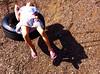 gazala_relaxing_on_tire_swing (mazanos.jonathan) Tags: cute girl modeling littlegirl younggirl 11yo 10yo gazala