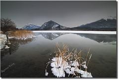 Vermilion Lake (Spence D) Tags: mountain cold ice alberta banffnationalpark vermilionlake