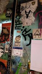 Leoncavallo (This is Awkward) Tags: travel italy streetart milan art graffiti italia milano stickers postal socialcenter leoncavallo thisisawkward