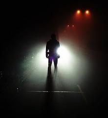 Silhouette (PattyK.) Tags: winter light silhouette fog night december greece griechenland 2014 ioannina giannina ilovemycity giannena epirus  ipiros