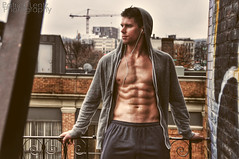 Graham (Violentz) Tags: shirtless portrait man male guy model body muscle fitness physique patricklentzphotography