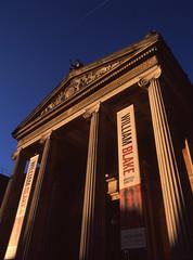 Ashmolean Museum, Oxford (Biker Jun) Tags: england film unitedkingdom january oxford velvia50 2015 bronicaetrsi peakimaging epsonv550