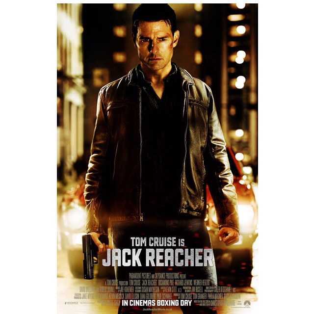 Movie Review ! This is the real action movie which starried Tom Cruise 👍 🔫💣 #instamovie #movies #movietime #moviedaily #moviebuff #moviereview #goodmovie #goodvibes #goodpeople #action #JackReacher #TomCruise #NYC #GoAHead #Lifeiswhatmak