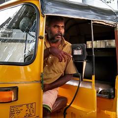 Photo (latestthoughts) Tags: auto travel india dressup tradition chennai tamilnadu getalife thoughtoftheday autorikshaw indianculture autodriver getaride
