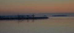 Sea scene (SKIPPER TAIL) Tags: sunset sea sun seascape finland landscape helsinki peaceful setting