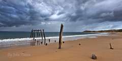 What once was ........ (John Finnan) Tags: australia vic oldjetty phillipis johnfinnan