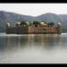 Jaipur IND - Jal Mahal Palace amidst Man Sagar Lake TiltShift