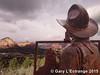 Sedona, (a different viewpoint) (garylestrangephotography) Tags: red vacation arizona usa mountain statue rock bronze painting landscape scenery cowboy butte view sony scenic sedona roadtrip vista overlook z3 sculptor xperia joebeeler garylestrangephotography