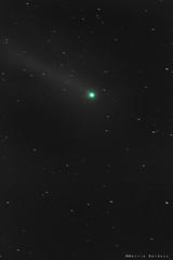 Cometa Loevjoy (MattiaDaldoss) Tags: italy stars italia tramonto cielo notte trentino comte startrails lovejoy stelle tremalzo canon70200f4 canon40d canon7d trentinonight mattiadaldossphotography