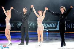 Tanith Belbin, Ben Agosto, Meryl Davis & Charlie White