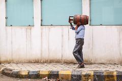 Hauling Gas (Mark S Weaver) Tags: kathmandu nepa