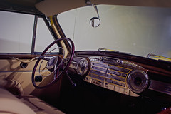 Inside a classic (Simar J) Tags: seattle new city red sky urban pet art love nature public speed buildings photography trapped google lomography exposure downtown time rusty lifestyle racing saturation shutter tacoma trick tilt shutterspeed lightroom colur tiltshift instagram simarj