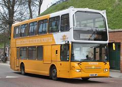BUS0439 119 YN06JWP Sanders Coaches Castle Meadow Norwich 30.04.2016 (31417) Tags: norwich scania 119 sanders yn06jwp