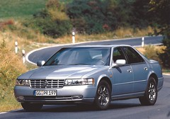 1999 Cadillac Seville STS (Hugo90-) Tags: ads advertising photo 1999 seville cadillac kit press promotional sls sts genf