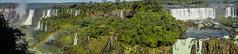 Panorama of Part of Iguacu Waterfalls (*Capture the Moment*) Tags: trees brazil panorama sun rainbow pano brasilien jungle waterfalls sonne bäume regenbogen wetter iguacu landschaften urwald 2016 fozdeiguazu wasserfälle panoramablick panoshot sonynex7 sonye18200mmoss