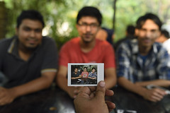 Picture in Picture (AvikBangalee) Tags: portrait portraiture pip dhaka bangladesh pictureinpicture instantphoto photoinphoto fujifilminstax avikbangalee fujifilminstaxseries