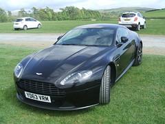 Aston Martin Vantage (Bennydorm) Tags: auto england black car automobile fast vehicle motor astonmartin exciting sportscar motorshow kendal crooklands