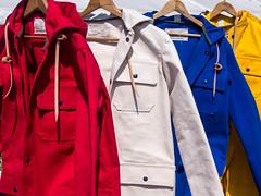 P5120810 (stacyl_flikr) Tags: antique raincoat primarycolors brimfield brimfieldantiquefestival